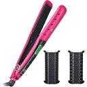 泉精器製作所 4Wayマイナスイオン付マルチヘアーアイロン「Beauty ARMS」 HI‐GW83‐P (ピンク)