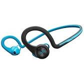 プラントロニクス スマートフォン対応「Bluetooth3.0」ヘッドセット USB充電ケーブル付(ブルー) BackBeat FIT【送料無料】