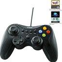 エレコム USBゲームパッド 13ボタンタイプ デジタル/ア...