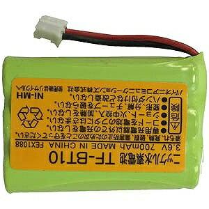 パイオニア コードレス子機用充電池 TF‐BT10