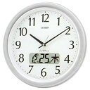 シチズン 電波掛け時計「ネムリーナカレンダーM02」  4FYA02‐019