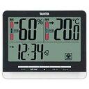 タニタ デジタル温湿度計 TT‐538‐BK (ブラック)