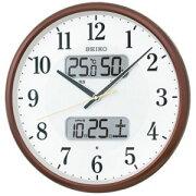 セイコー 電波掛け時計 KX383B(送料無料)