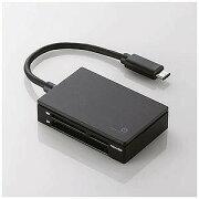 エレコム/LaCie USB Type−Cコネクタ搭載メモリリーダライタ(ブラック)  MR3C−A010BK