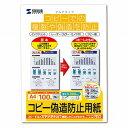 サンワサプライ マルチタイプコピー偽造防止用紙(A4・100枚) JP−MTCBA4