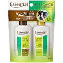 花王 Essential(エッセンシャル) 速乾タイプ フリー&スムース シャンプー&コンディショナーミニセット(90ml)