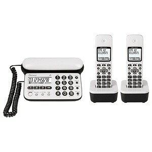 パイオニア 「子機2台」デジタルコードレス留守番電話機 TF‐SD15W‐PW (ピュアホワイト)(送料無料)