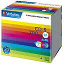三菱化学 データ用CD−R データ用CD 5mmケース入り 20枚パック SR80SP20V1