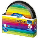 三菱化学 データ用DVD−R DL(2−8倍速/8.5GB)10枚パック スピンドルケース DHR85HP10SV1