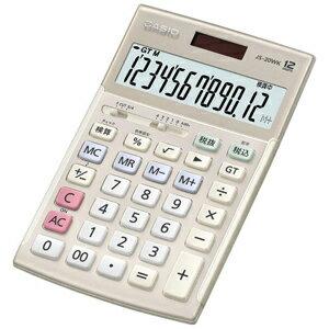 CASIO 本格実務電卓(12桁) JS‐20WK‐GD