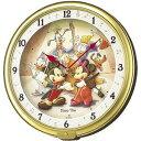 セイコー キャラクター掛け時計「ディズニータイム」 FW521G【送料無料】