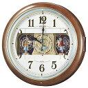 電波からくり時計「ウェーブシンフォニー」 RE559H(送料...