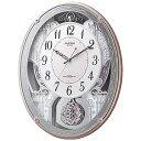 リズム時計工業 電波からくり時計「スモールワールドクオーレ」 4MN516RH13【送料無料】