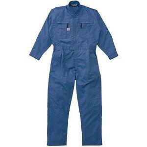 ツナギ服 3Lサイズ ブルー 5750BL3L(送料無料):コジマ店
