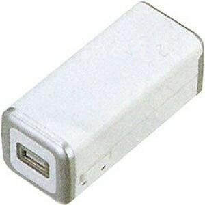 ヤザワコーポレーション 乾電池式USB充電器 TVR10WH (ホワイト)
