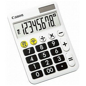 Canon 卓上電卓「くっきりはっきり電卓」(8...の商品画像