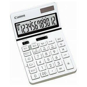 Canon ビジネス電卓「新・ビジネス向け電卓」(12桁) KS‐1220TU‐WH (ホワイト)