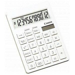 Canon 電卓「シンプルスマートシリーズ」(12桁) SI‐120T (ピュアホワイト)