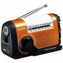 ソニー 「ワイドFM対応」FM/AMポータブルラジオ(オレンジ) ICF‐B09 DC【送料無料】