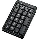 エレコム Bluetoothワイヤレステンキーボード TK?TBM008BK