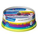 三菱化学 データ用DVD−R(1−16倍速/4.7GB)25枚パック スピンドルケース DHR47JP25V1