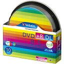 三菱化学 データ用DVD+R DL(2.4−8倍速/8.5GB)10枚パック スピンドルケース DTR85HP10SV1