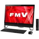 富士通 23型デスクトップPC「Win10 Home・Core i7・HDD 2TB」FMV ESPRIMO FMVF77XDB (オーシャンブラック)【送料無料】