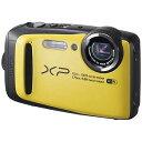 富士フィルム コンパクトデジタルカメラ FinePix(ファインピクス) XP90 (イエロー)【送料無料】