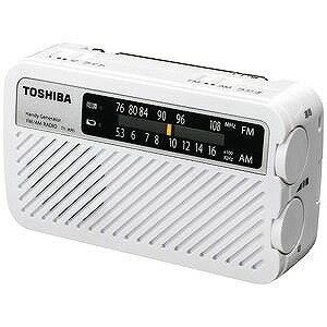 東芝 「ワイドFM対応」FM/AM 手回し充電ラ...の商品画像
