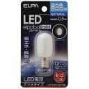 エルパ LED電球 ナツメタイプ(昼白色) LDT1N−G−E12−G100