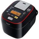 パナソニック 可変圧力スチームIHジャー炊飯器(5.5合炊き)「Wおどり炊き」 SR‐SPA106‐K (ブラック)(送料無料)