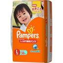 P&G 「Pampers(パンパース)」しっかり吸収パンツ Lサイズ 38枚 パンパースシッカリパンツエル(38