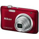 ニコン コンパクトデジタルカメラ COOLPIX(クールピクス) A100 (レッド))(送料無料)...