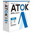 justsystems 〔Win版〕 ATOK エイトック 2016 ベーシック ATOK 2016 FOR WINDOW【送料無料】