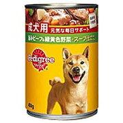 マースジャパンリミテッド ペディグリーチャム スープ仕立て ざく切ビーフ&野菜 400g PカンセイケンビーフVスープ400G