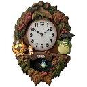 リズム時計工業 掛け時計 「トトロM429」 4MJ429M‐06【送料無料】