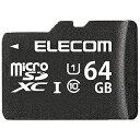 エレコム 64GB・UHS Speed Class1(Class10)対応microSDXCカード MF‐BMSD‐064【送料無料】