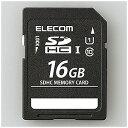 エレコム 16GB・UHS Speed Class1(Class10)対応SDHCカード MF‐BSD‐016