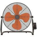 山善 工業用扇風機 床置き式(4枚羽根) YKY-456 (オレンジ)(送料無料)