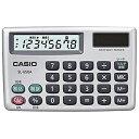 CASIO ポータブル電卓 カードタイプ SL‐650A‐N