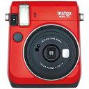 富士フィルム インスタントカメラ (チェキ) instax mini 70 (レッド)(送料無料)
