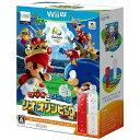 任天堂 Wii Uソフト マリオ&ソニック AT リオオリンピックTM Wiiリモコンプラスセット(アカ・シロ)【送料無料】