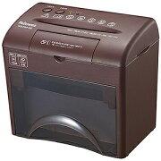 フェローズジャパン デスクトップマイクロカットシュレッダー (A5サイズ/CD・DVDカット対応) S5CDM−BB ビターブラウン(送料無料)