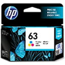 HP (純正)HP 63 インクカートリッジ(カラー) F6U61AA