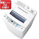 AQUA 全自動洗濯機 6.0kg 「AQUA」 AQW‐S60E‐W (ホワイト)【標準設置無料】