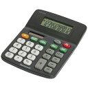 電卓 「スタンダードS」 ECD‐SD01‐BK(ブラック)