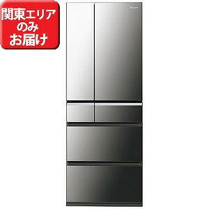 パナソニック 6ドア冷蔵庫(551L・フレンチドア) NR−F552XPV−X (オニキスミラー)【標準設置無料】