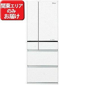 パナソニック 6ドア冷蔵庫(551L・フレンチドア)「PVタイプ」 NR−F552PV−W (スノーホワイト)【標準設置無料】