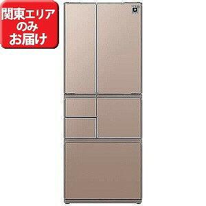シャープ 6ドア冷蔵庫(505L・フレンチドア) SJ−GT51C−T (ブラウン系)【標準設置無料】