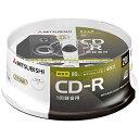 三菱ケミカルメディア 音楽用CD-R 1-48倍速 700MB 20枚(スピンドル) MUR80FP20SD1-B